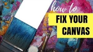 How to Reuse Acrylic Paintings on Canvas