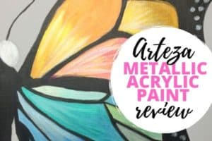 Is the Arteza Metallic Acrylic Paint Worth the Hype? Art Supply Review