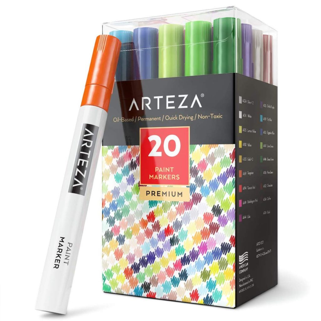 arteza paint marker honest review pack