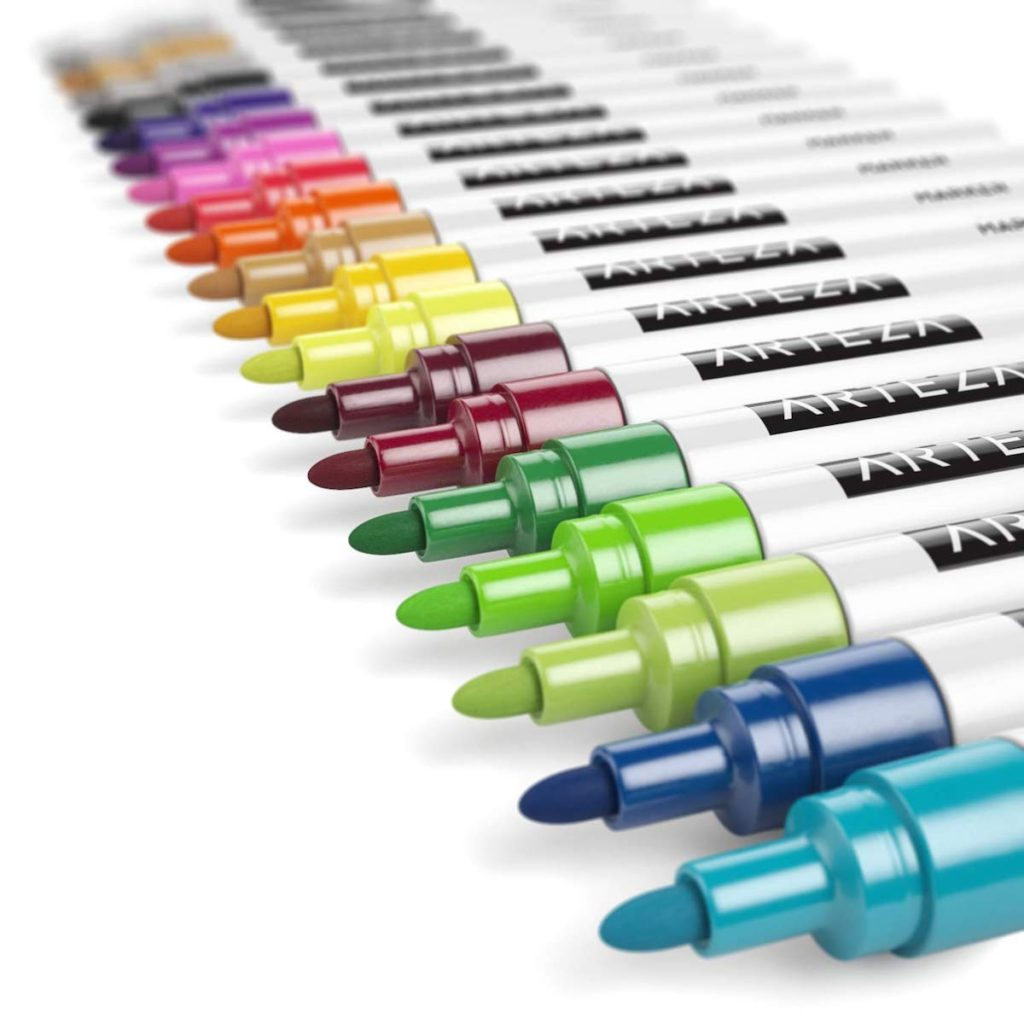 arteza paint marker honest review overview