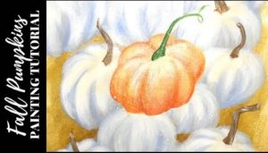 Pumpkin Patch | Acrylic Painting Tutorial for Beginners