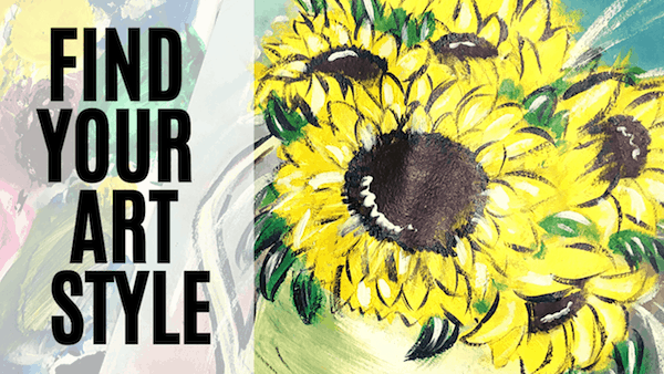 how to find your own artistic style