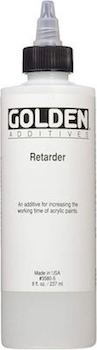 Golden Retarder fluid to slow down drying time