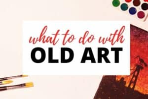 What to do with your old or unwanted canvas paintings