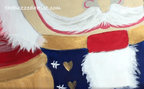 suit decorations Nutcracker acrylic painting tutorial for beginners